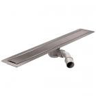 Душевой трап Wiper Invisible 100.1423.00.ххх для монтажа под натуральный камень, с фланцем для гидроизоляции