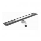 Душевой трап Wiper Premium 100.1410.03.060 с фланцем для гидроизоляции, решетка MISTRAL, длина 600 мм