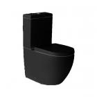 Унитаз-компакт безободковый Newarc Modern Rimless 3822B NEW черный