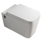 Подвесной унитаз с сидением softclose Newarc Aqua 9423W белый