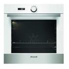 Встраиваемый электрический духовой шкаф с конвекцией Brandt BXP5534W белое стекло, нержавеющая сталь