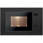 Встраиваемая микроволновая печь с грилем Candy MIC 20 GDFN черная