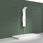 Гидромассажная панель iStone New WD0071 Matt White белый матовый камень