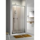 Двери раздвижные для монтажа в нишу или со стенкой Aquaform MODERNO 103-09342 (уценка)