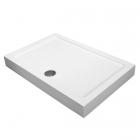 Прямоугольный душевой поддон с сифоном Volle Libra 10-22-908tray белый