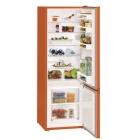 Двухкамерный холодильник с нижней морозилкой Liebherr CUno 2831 Comfort (A++) оранжевый
