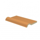 Плитка с краем перелива 11,5x20 RAKO POOL RAL 0607050 Оранжевая GTVDA150