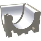 Внутренний угол Wiesbaden (2 части) 14,3x14,3 RAKO POOL White Белый XPI54023