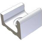 Переливной желоб с отверстием для слива Wiesbaden 19,5x22,5 RAKO POOL White Белый XPD52023