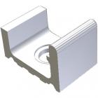 Переливной желоб с отверстием для слива Wiesbaden 19,5x30 RAKO POOL White Белый XPD51023