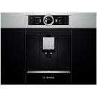 Встраиваемая автоматическая кофемашина Bosch CTL636ES1 черная, нержавеющая сталь