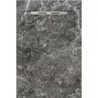 Душевой поддон из керамогранита Aquanit с сифоном Slope 90х1350 Fiori di Pesca Grey серый мармор