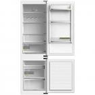 Встраиваемый двухкамерный холодильник с нижней морозильной камерой Fabiano FBF 282 B/N белый
