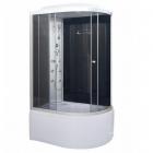 Гидромассажный бокс Vivia 82 L RC левосторонний, профиль сатин, задние стенки черные, стекло графит