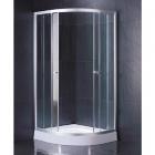 Душевая кабина на низком поддоне Vivia 081 PR профиль сатин, стекло фабрик