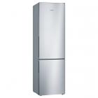 Отдельностоящий двухкамерный холодильник с нижней морозильной камерой Bosch Serie 4 KGV39VL306