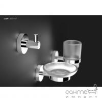 Набор аксессуаров для ванной комнаты Sonia Loop 179718 хром, стекло