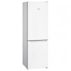 Отдельностоящий двухкамерный холодильник с нижней морозильной камерой Siemens IQ100 KG36NNW30 белый