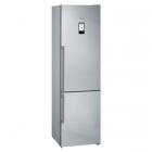 Отдельностоящий двухкамерный холодильник с нижней морозильной камерой Siemens KG39NAI36 нержавеющая сталь