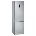 Отдельностоящий двухкамерный холодильник с нижней морозильной камерой Siemens KG39NXI316 нержавеющая сталь