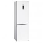 Отдельностоящий двухкамерный холодильник с нижней морозильной камерой Siemens KG39NXW316 белый