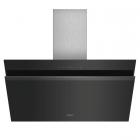 Кухонная вытяжка Siemens LC91KWQ60S нержавеющая сталь/черное стекло