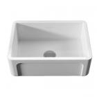 Полувстраеваемая керамическая кухонная мойка Kerasan Hannah Yorkshire 5420 белая керамика