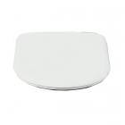 Сидение для унитаза акриловое softclose Gentry Home Hillingdon 1570 белое, петли хром