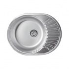 Врезная кухонная мойка Ferro DR45/58H нержавеющая сталь