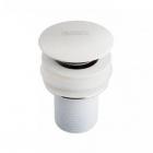 Донный клапан без перелива Newarc 740772W белый