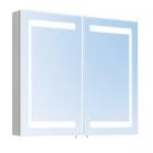 Зеркальный шкафчик с LED-подсветкой Oscar M-80 LED/X2