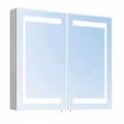 Зеркальный шкафчик с LED-подсветкой Oscar M-100 LED/X2