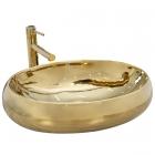 Раковина на столешницу Rea Melania REA-U9001 золото