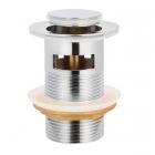 Донный клапан с переливом As Plast Click-Clack AS80 хром