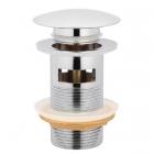 Донный клапан с переливом As Plast Click-Clack AS80-D хром