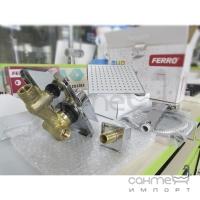 Душевая система скрытого монтажа Ferro SQUERTO Square SET-SQ1-P хром