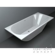 Прямоугольная ванна Miraggio Tasmania 00313102 1800х800 белая, матовая