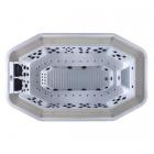 Спа-бассейн с переливом Aquazzi ComSPA-10 восьмиугольный
