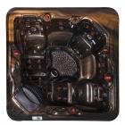 Спа-бассейн Aquazzi Relax-Light H-SPA S34 медь майя, корпус крымская берёза