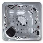 Спа-бассейн Aquazzi Relax-Maxi H-SPA S33 серебряный бриз, корпус крымская берёза