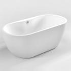 Акриловая отдельностоящая ванна Dusel DU111 белая