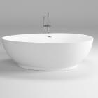 Акриловая отдельностоящая ванна Dusel DU106 белая