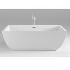 Акриловая отдельностоящая ванна Dusel DU108 белая