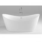 Акриловая отдельностоящая ванна Dusel DU104 белая