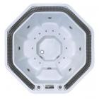 Спа-бассейн с переливом Aquazzi Octagon ComSPA-02 восьмиугольный