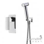 Гигиенический душ со смесителем скрытого монтажа Imprese Grafiky ZMK061901120 хром