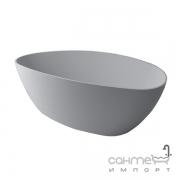 Отдельностоящая ванна из литого мрамора Fancy Marble Dolores 170 белая