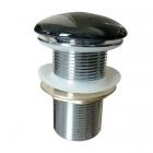 Донный клапан Volle 90-00-037 click-clack черный, без перелива