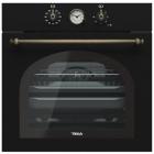 Электрический духовой шкаф Teka Wish Rustica HRB 6300 AT 111010010 черный, ручки латунь