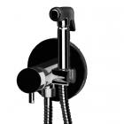 Гигиенический душ скрытого монтажа Daniel Suvi S20645S2M15 матовый черный